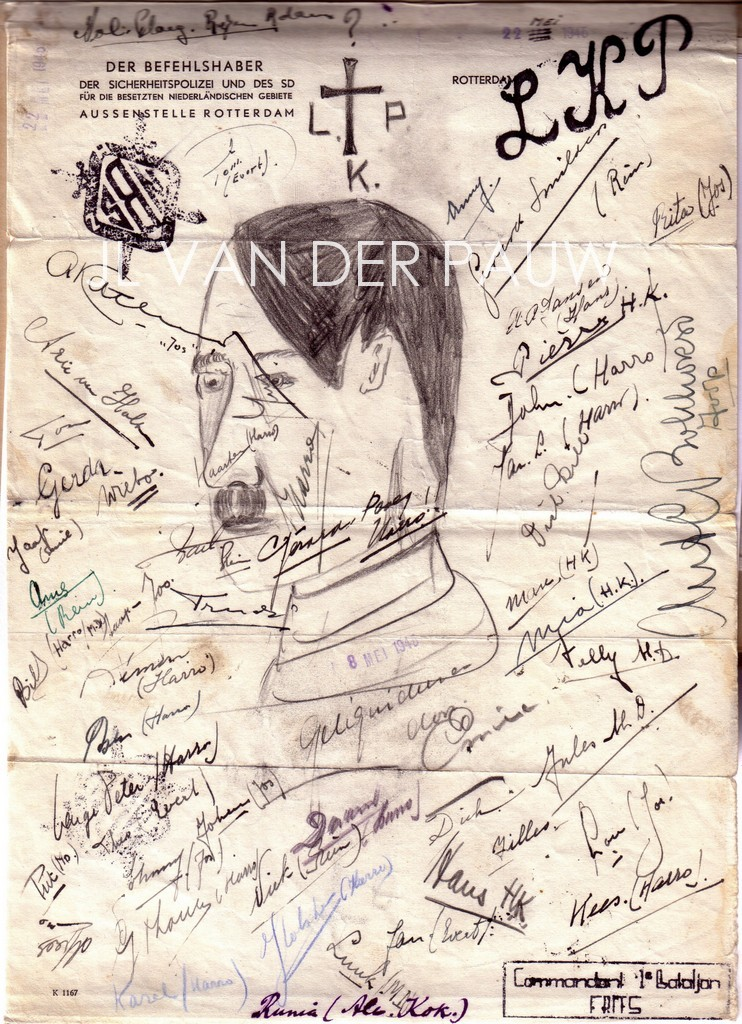 Handtekeningen LKP